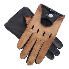 Comfortable Soft Leather Driving Gloves Without Lining Simple Classic Style