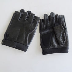 Outdoor Fingerless Leather Driving Gloves Customized Size Designs Eco - Friendly